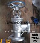 angle globe valve