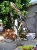 Outdoor furniture Stainless steel sculpture