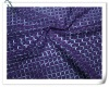 100% polyester hole mesh with square design