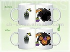 christmas gifts 2012, magic mug for promotion, color changing mug, write-on series also available easter