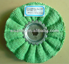 Green ctton and sisal polishing wheel with thecompetitive price