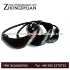 New style fashion cheap hair accessories with dark color for long hair