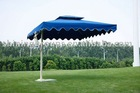 UV resistant side post umbrella & parasol