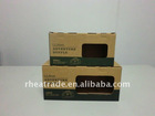 Kraft Paper Corrugated Board Duffle Bag Display Box