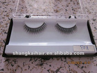 handmade/semi-handmade human hair false eyelashes