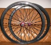 bicycle wheels&Carbon 700c wheels & carbon Tubular wheel & carbon rim 38MM