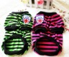 A1002 Pet Clothes Dog Striped Sweater (with Five Color) Miniorder 100 pcs (mix size) Drop Shipping