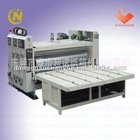 Flexo Ink Carton Printing Machine With Slotting