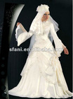 2013 Gorgeous Muslim Wedding Gown