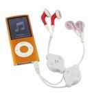 latest retractable Valentine earbud/share earphone
