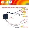 A-100 Video Distribution Amplifier Video TV signal Booster splitter//A-100-8