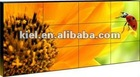 high quality 5.3mm seal gap video wall 55 inch lcd display with wifi and RJ45 samsung bezel panel