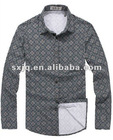 Men's 2012 fancy shirt in special checks