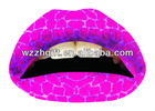 lip art tattoo sticker
