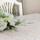 PVC Printed Lace tablecloth,Elegant deco table covers - Helen Li