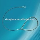 galvanized wire with PVC coated steel wire