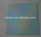 supply 595*595 pvc ceiling panel , hot stamping
