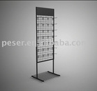 floor standing metal display rack