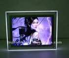 crystal acrylic LED picture frame