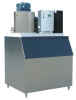 KS-1000F commercial sliced ice maker machine with French Tecumseh compressor and big output