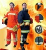 EN469 structural firefighter fighting suit