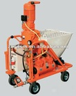 35L/min Portable concrete pump and spray machine/electronic plastering machine