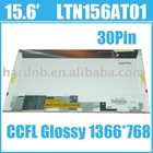 LTN156AT01 For Samsung CCFL Glossy 1366*768 Laptop Screen