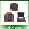 Solar Ipad2 Charger Bag+wireless bluetooth keyboard