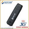 High quality EVDO Rev.O 3g usb dongle support SMS & Call