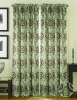 Room Darking Printed Window Curtain