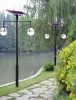 Solar courtyard light