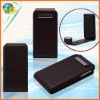 Coffee Color PU Phone Leather Case For Apple iphone 4G 4S Fashion Design Mobile Protective Flip Case