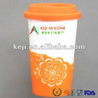 Practical Eco-friendly Silicone mug cup cover