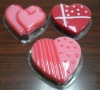 Heart shape transparent soap