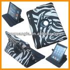 New Arrival For iPad Mini Case For iPad Case Leather Case For iPad Mini Leather PU 360 Rotating Magnetic Stand Zebra Stripes