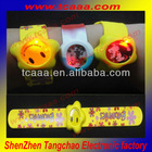 bracelets de silicone led light with custom logo design