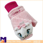 super soft marie cartoon warm glove for winter