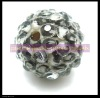 white colors leopard resin beads basketball wives