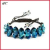 Free shipping New design with crystal MT120702085 elastic bracelet