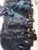 Huge in stock Remy hair Virgin hair bulk,that can be bleached into 613#