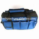 blue garden tool bag