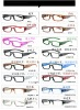 2012 Hot sale LED reading glasses, plastic reading glasses with led light