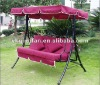 Luxury garden swing with canopy