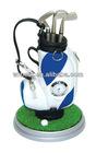 New Golf brush pot pen container