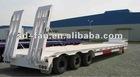 20ft/40ft flatdeck container transport semi trailer for sale
