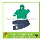 KRS002 Kids Outdoors High-quality PU Rain Suit