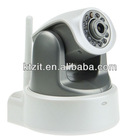 H.264 1.0 Megapixels HD 720P CMOS IR Cut 10M Night Vision Wireless Network IP Camera Support SD Card and WPS