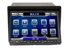 7Inch Touch HD Screen with DVD,USB/SD,AM/FM,RDS,BT,IPOD,3D and PIP,GPS,DVB-T