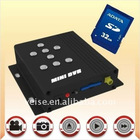 4CH SD Card DVR Video Audio Input/Output