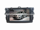 8 inch car audio player for Toyota Corolla